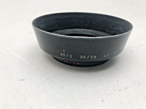 Nikon lens hood 52mm for 43-86mm Manual Zoom and 35mm F2 lenses.